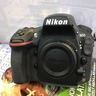 Nikon D810 Body SC:36k