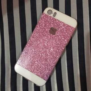 Casing iphone 5s gliter