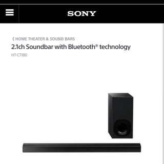 Sony HT-CT180 sound bar