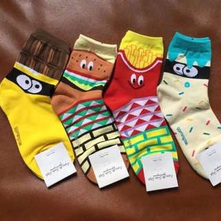 All About Food Socks