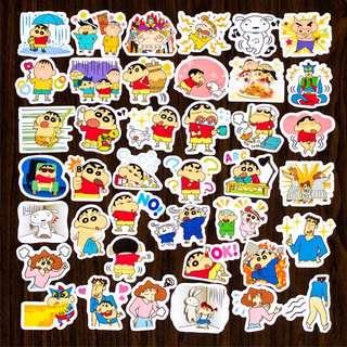 (FREE NM🎉) #3 Crayon shin chan stickers