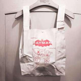 New jouetie x batman tote bag