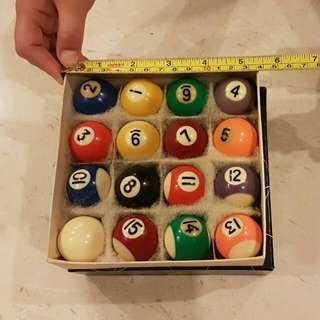 Mini Pool Ball
