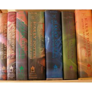 harry potter boxed set with box