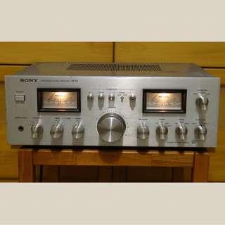 【雙錶頭】SONY 罕見大眼仔 合併擴音機 PHONO MM/MC 接LP黑膠唱盤 TURNTABLE 放大器 AMPLIFIER (非MARANTZ SANSUI PIONEER YAMAHA前後后級)