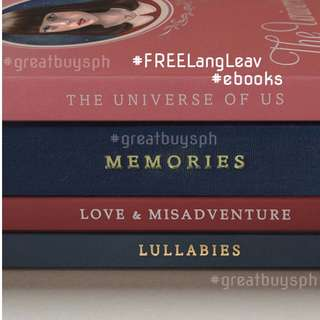 #FREE FOUR Lang Leav E-Books!!!