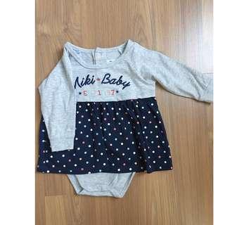 Miki Kids Baby Dress