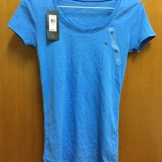 🚚 美國購入-Tommy Hilfiger 藍色短袖T恤Xs