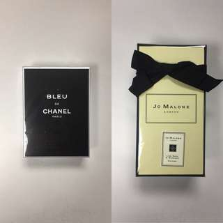 Bleu de Chanel and Jo Malone Bundle (US Testers)