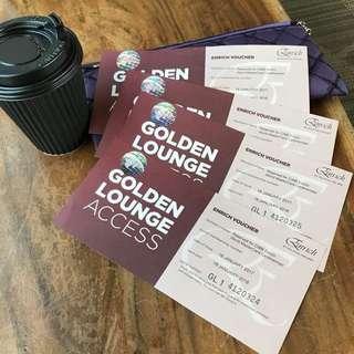 Mas Airlines Golden Lounge Access Voucher