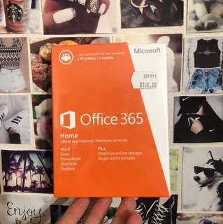 Microsoft Office 365 1 year subscription