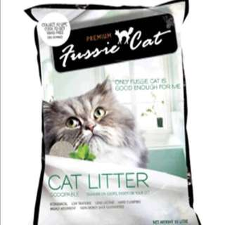 Fussie Cat Refresh Cat Litter-Unscented 10Litres