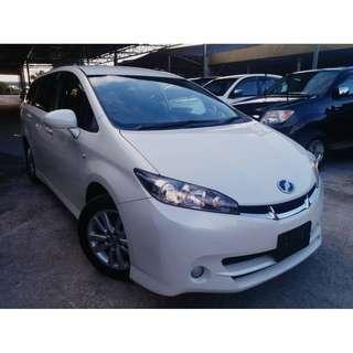 2010 Toyota Wish 1.8 (A) X SPORT VERSION FULL SPEC