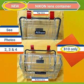 NIKON Airtight Container