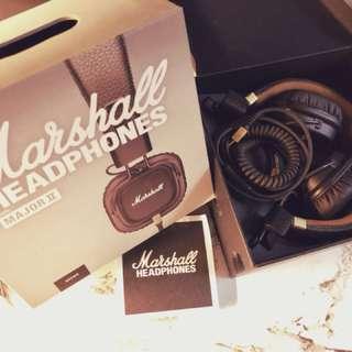 Marshall Major2 英國搖滾皮革耳機