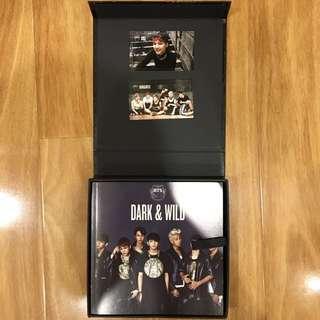 Dark and Wild BTS with PCs