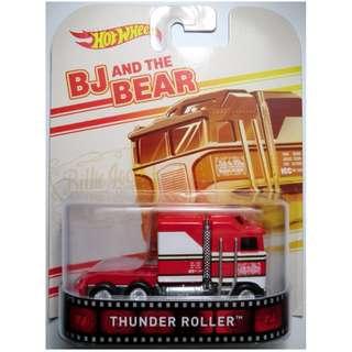 hotwheels thunder roller retro BJ AND THE BEAR