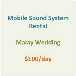#1212YES Rental of Mobile Sound System (Registered Company, ROC:52272400X)
