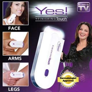 Yes! Finishing touch Sense-Light USB Charging Painless Hair Removal