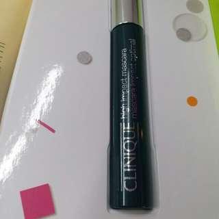 Clinique high impact mascara-black 7ml(全新,價錢可議)