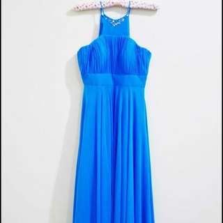 Sky Blue Gown for rent