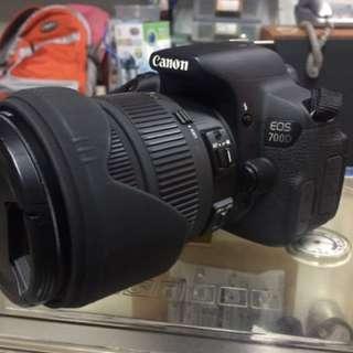 出售:Canon 700D含SiGMA DC 17-70鏡頭