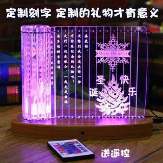 Gift DIY Lovers Birthday Present Anniversary Couple Girlfriend Boyfriend  16 types of lights