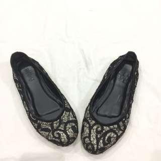 Milley Black lace Shoes
