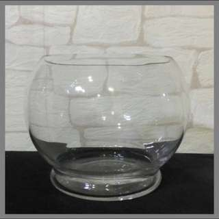 🚨Moving Out Sale🚨Glass R15 fish bowl Cylinder with Base