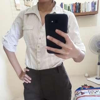 HnM tshirt (kemeja kerja)