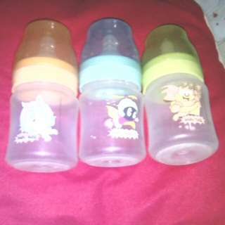 Super Sale:Original Looney Toons 4 Oz Feeding Bottles