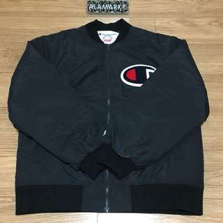 Supreme x Champion Color Blocked Jacket [Black | Medium]