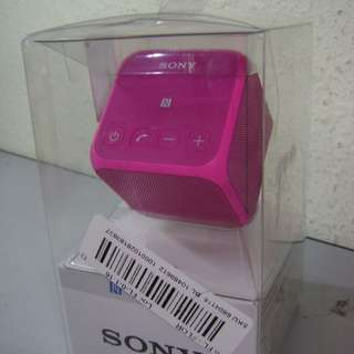 Sony Portable Bluetooth Speaker SRS-X11 Pink