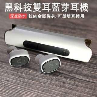 【S2台灣總代大盤】IPX7防水 Youngfly ER03 吸磁式 雙耳無線 藍芽耳機 藍牙耳機具850mAH行動寶