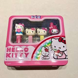 Hello Kitty Collectibles Pez sets