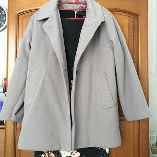 Made in Korea Winter Coat Grey