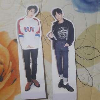 WTT /WTS Wanna One Kuan Lin & Jisung Standee to Kang Daniel