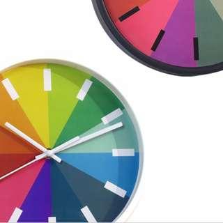 Classic Colorful Clock #huat50sale