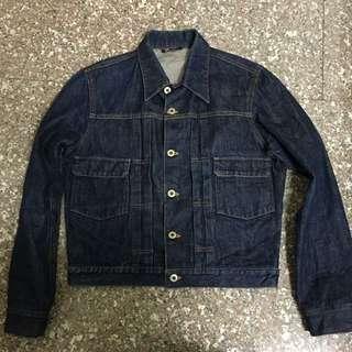 日本製 牛仔外套 type2  肩寬:42 胸寬:48