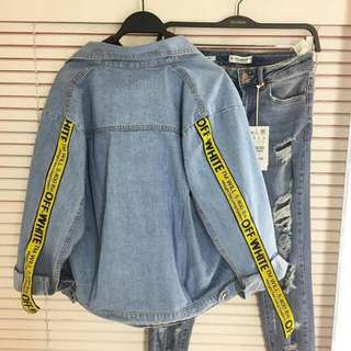 Offwhite Jeans Jacket #forcharity