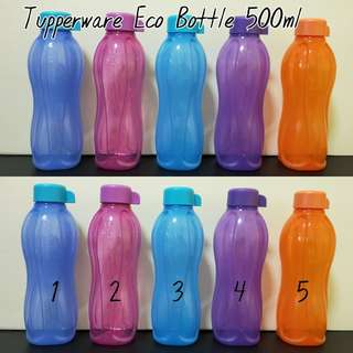 Tupperware Eco Bottle 500ml
