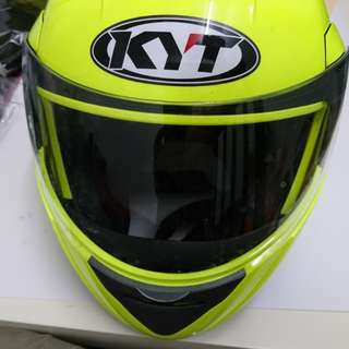 KYT Convair Flip Up Double Visor not copy