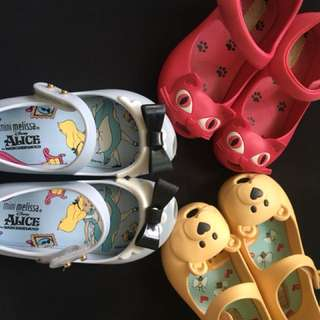Original Mini Melissa Shoes (Used)