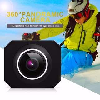 4K panoramic camera VR HD dual lens, 360 degree motion camera 720 degree outdoor camera, PANO360