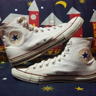 Sepatu converse ct high optical white size 43 not 70s jackpurcell vans