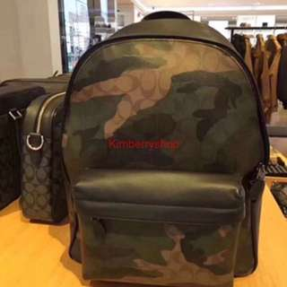 Authentic Coach men backpack laptop bag Handbag