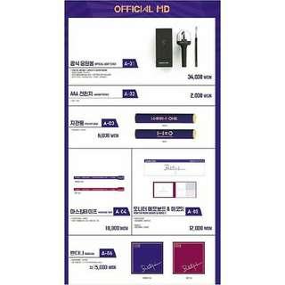 [Pre-order] Wanna One Official Merch