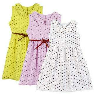 Summer Love Dress With Waistband (2-7 years old)