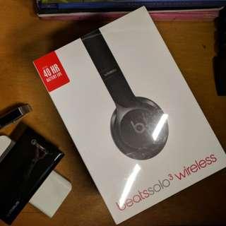 Beats Solo 3 Wireless Headphone Earphone Bluetooth