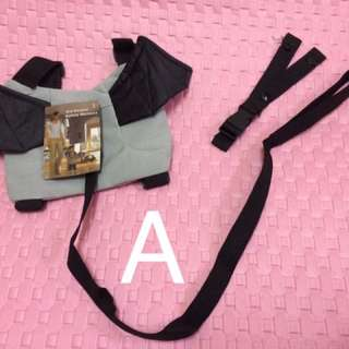 Harness safety bag